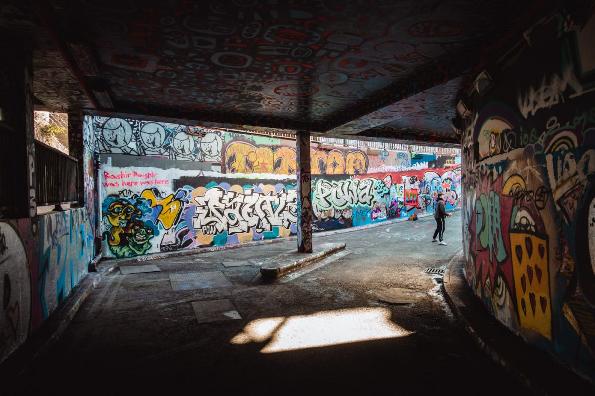 The Graffiti Tunnel - Les lieux insolites à Londres