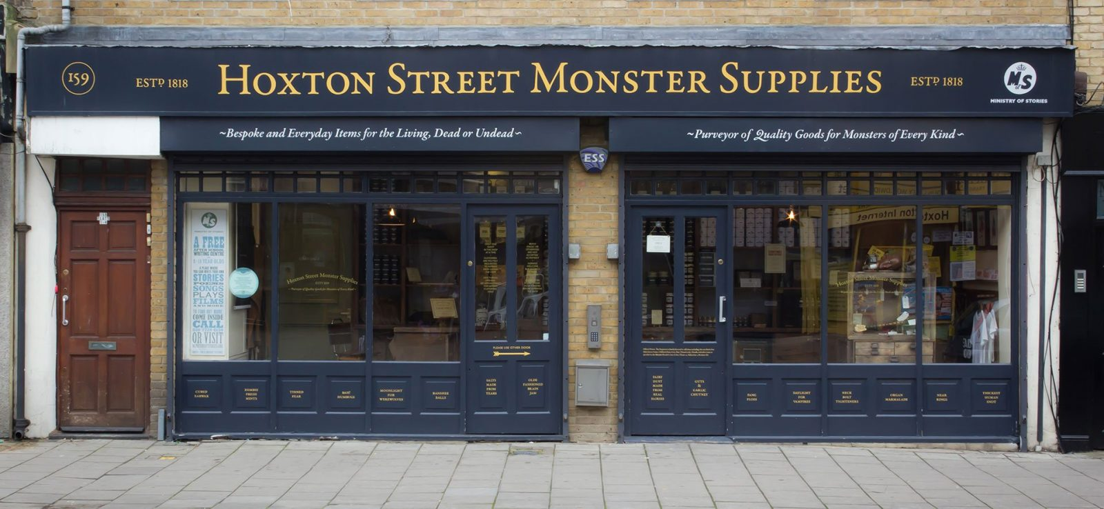 Hoxton Street Monster Supplies - Les lieux insolites à Londres